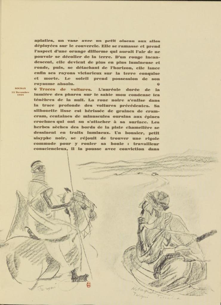 en parallèle de la Croisière Noire...des dessins 6141