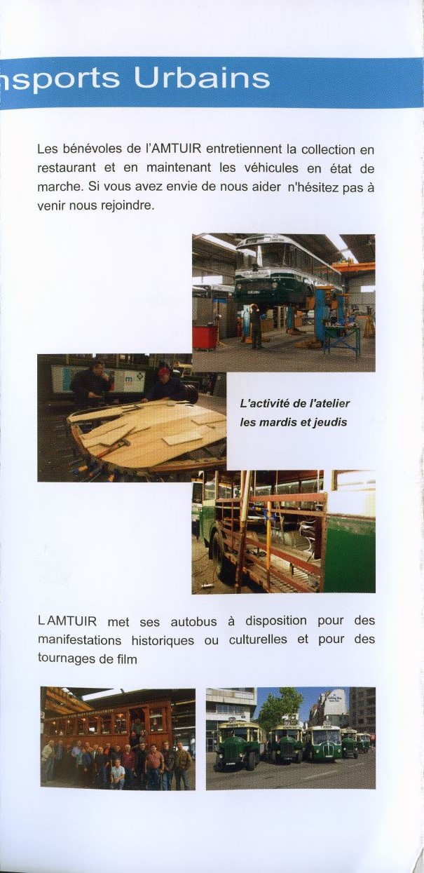 MUSEE Collection Transports en commun - AMTUIR (77 - CHELLES) 796