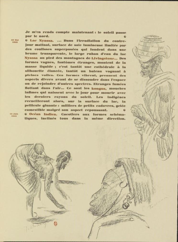 en parallèle de la Croisière Noire...des dessins 883