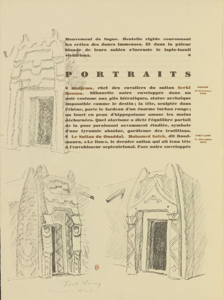 en parallèle de la Croisière Noire...des dessins 971