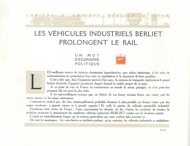 Pub , catalogues et livres sur BERLIET - Page 2 Berlie14