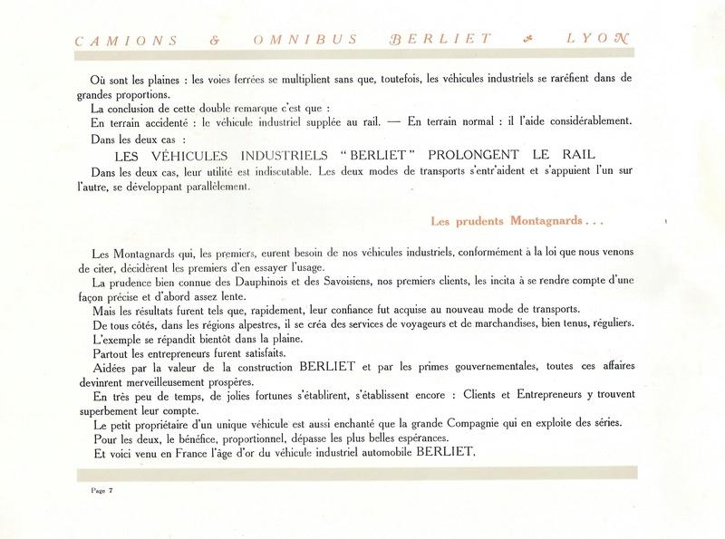 Pub , catalogues et livres sur BERLIET - Page 2 Berlie15