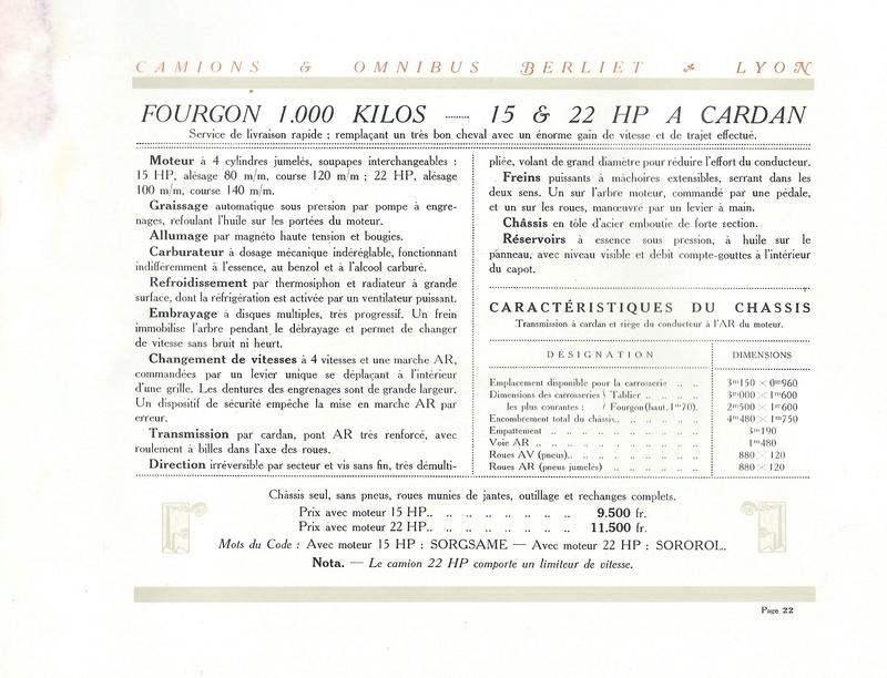 Pub , catalogues et livres sur BERLIET - Page 2 Berlie30