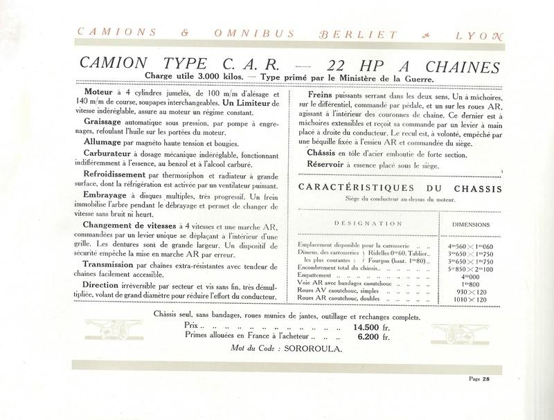 Pub , catalogues et livres sur BERLIET - Page 2 Berlie36