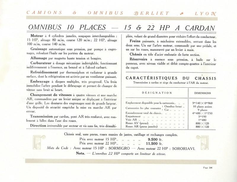 Pub , catalogues et livres sur BERLIET - Page 2 Berlie43