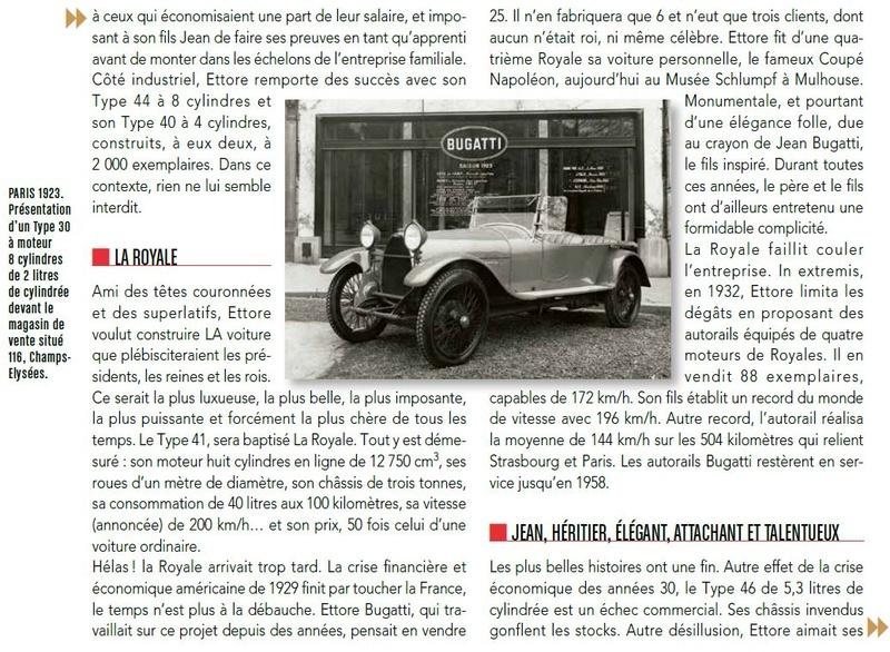 résumé de l'Histoire de BUGATTI Bugatt22
