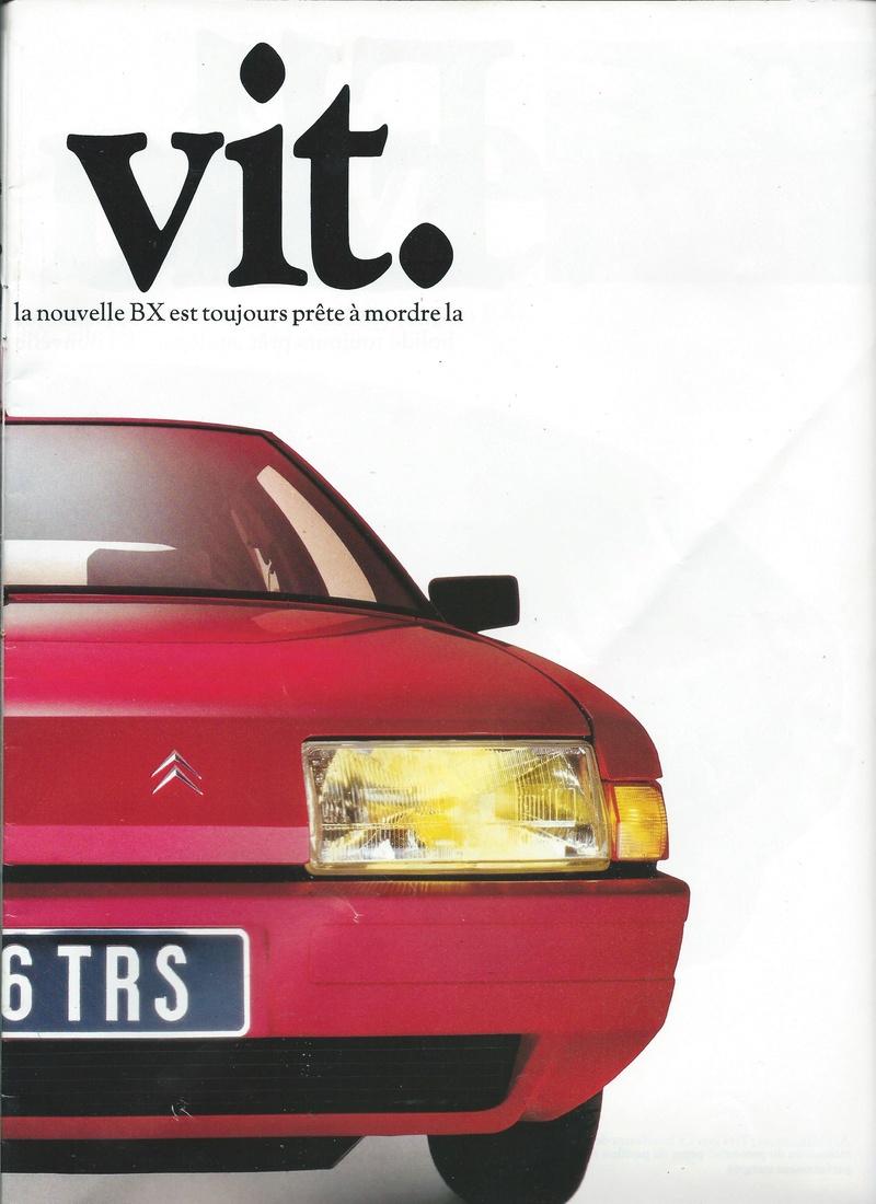 les YOUNGTIMERS (Citroën récentes: AX, BX , CX , XM....) Bx_19810