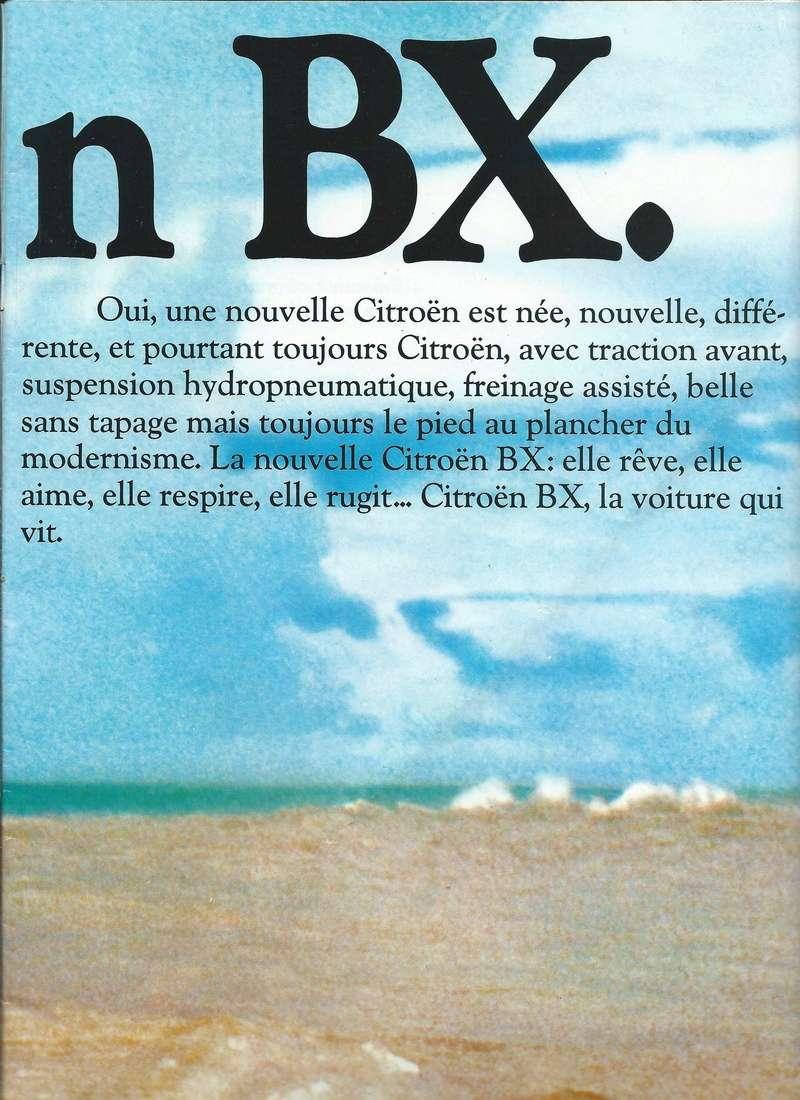 les YOUNGTIMERS (Citroën récentes: AX, BX , CX , XM....) Bx_19811