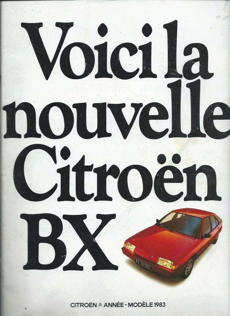 les YOUNGTIMERS (Citroën récentes: AX, BX , CX , XM....) Bx_19812