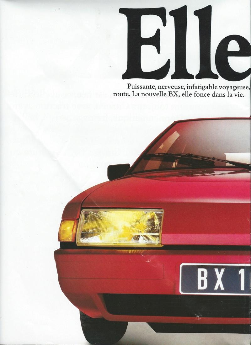 les YOUNGTIMERS (Citroën récentes: AX, BX , CX , XM....) Bx_19814