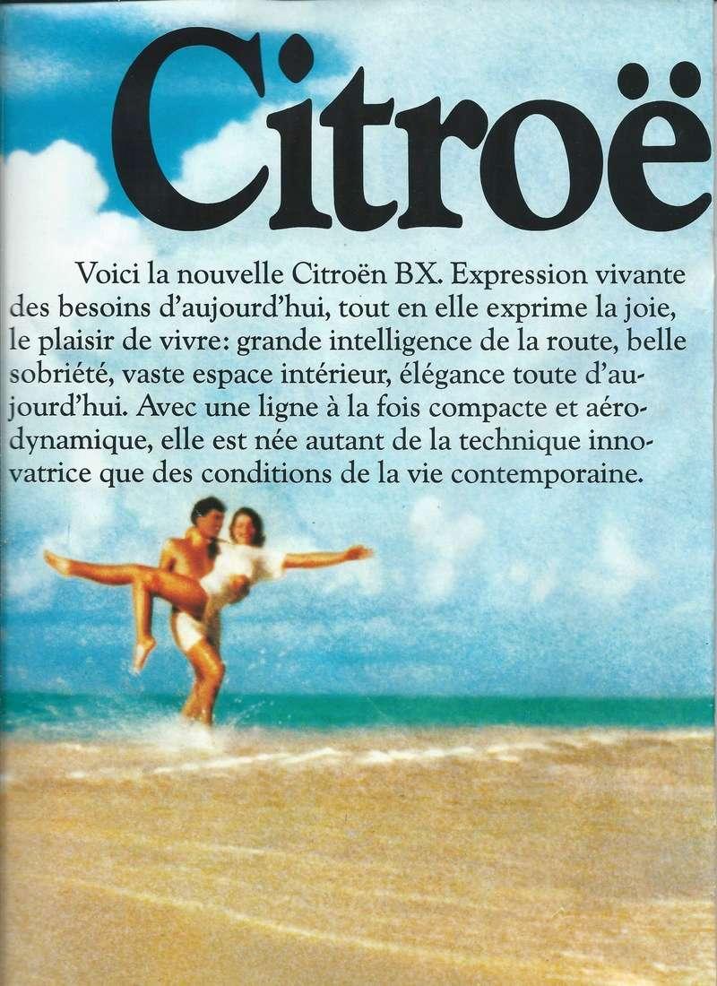 les YOUNGTIMERS (Citroën récentes: AX, BX , CX , XM....) Bx_19816