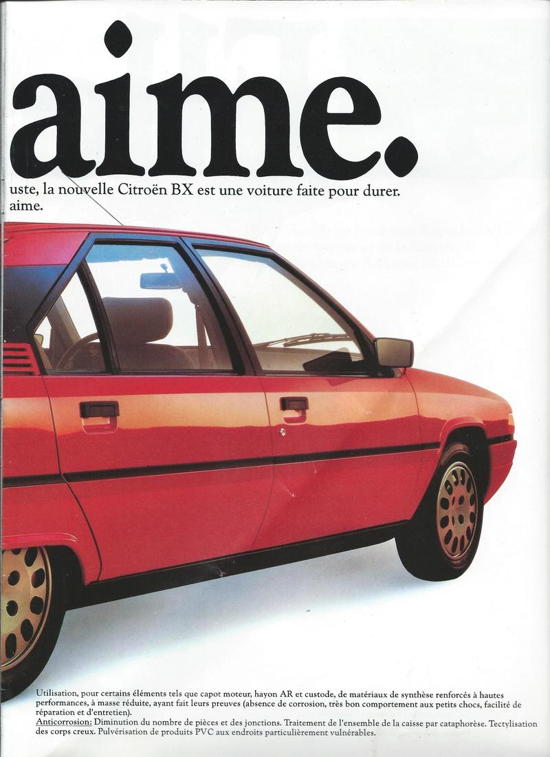 les YOUNGTIMERS (Citroën récentes: AX, BX , CX , XM....) Bx_19817