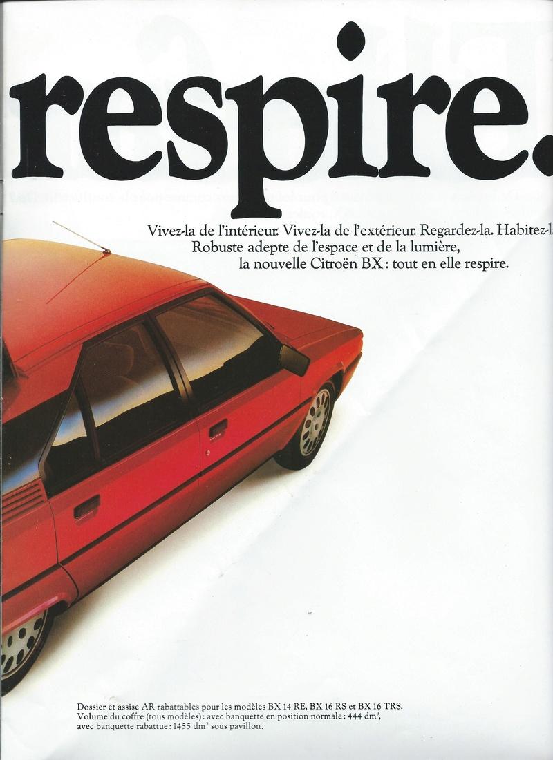 les YOUNGTIMERS (Citroën récentes: AX, BX , CX , XM....) Bx_19818