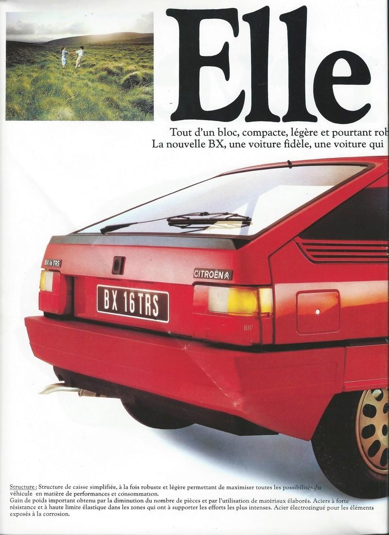 les YOUNGTIMERS (Citroën récentes: AX, BX , CX , XM....) Bx_19819