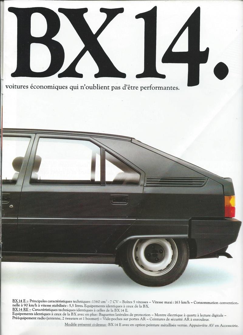 les YOUNGTIMERS (Citroën récentes: AX, BX , CX , XM....) Bx_19826