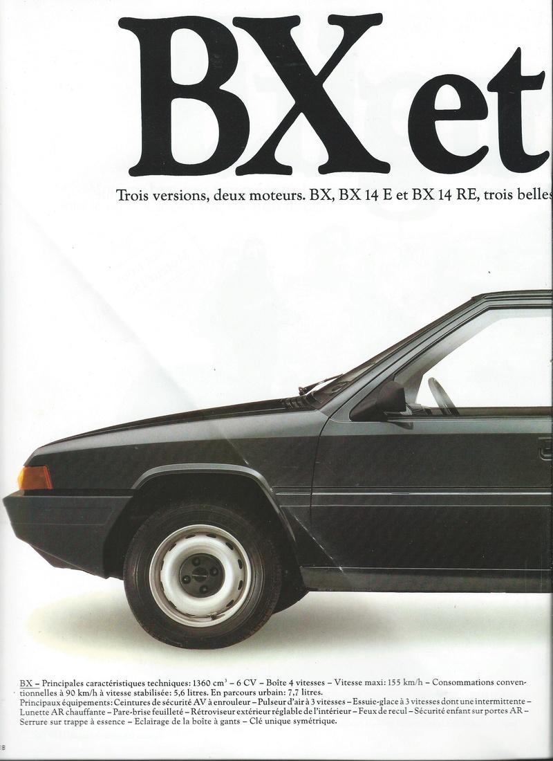 les YOUNGTIMERS (Citroën récentes: AX, BX , CX , XM....) Bx_19829