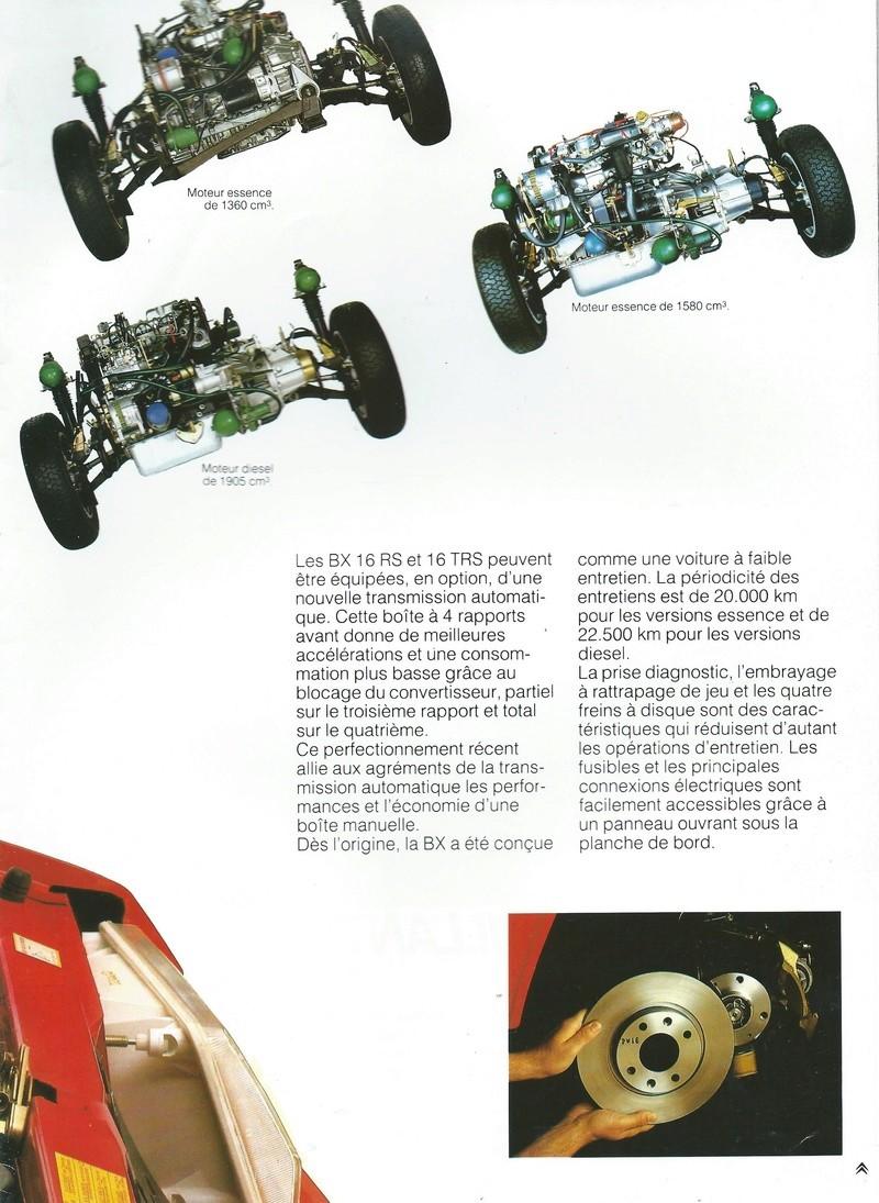 les YOUNGTIMERS (Citroën récentes: AX, BX , CX , XM....) Bx_19839