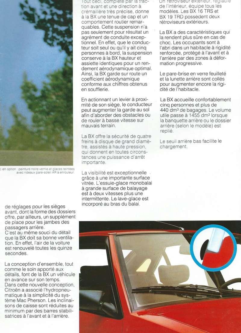 les YOUNGTIMERS (Citroën récentes: AX, BX , CX , XM....) Bx_19840