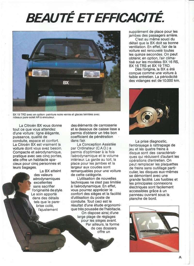 les YOUNGTIMERS (Citroën récentes: AX, BX , CX , XM....) Bx_19842