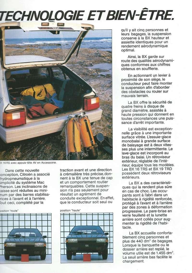 les YOUNGTIMERS (Citroën récentes: AX, BX , CX , XM....) Bx_19843