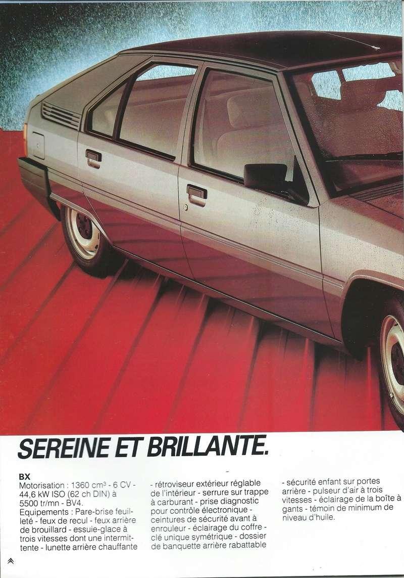 les YOUNGTIMERS (Citroën récentes: AX, BX , CX , XM....) Bx_19846