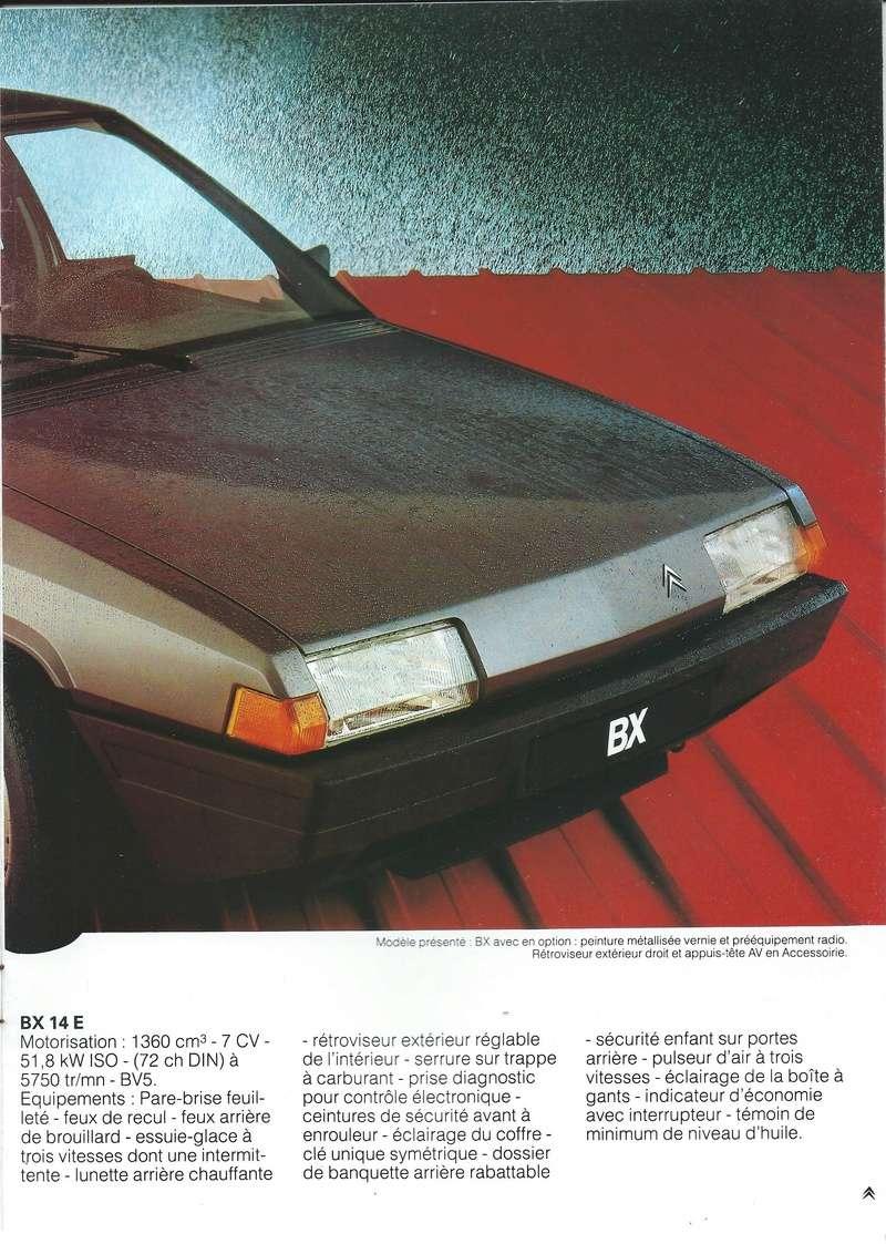les YOUNGTIMERS (Citroën récentes: AX, BX , CX , XM....) Bx_19847