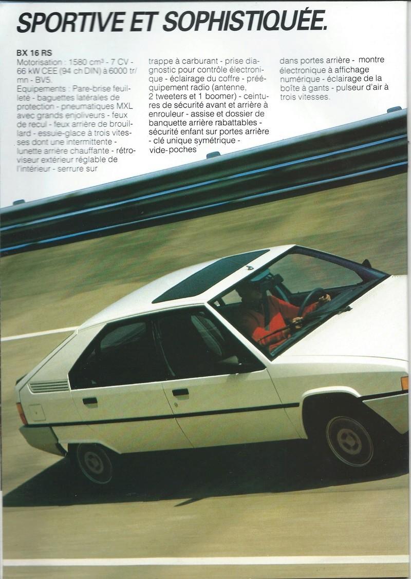 les YOUNGTIMERS (Citroën récentes: AX, BX , CX , XM....) Bx_19850