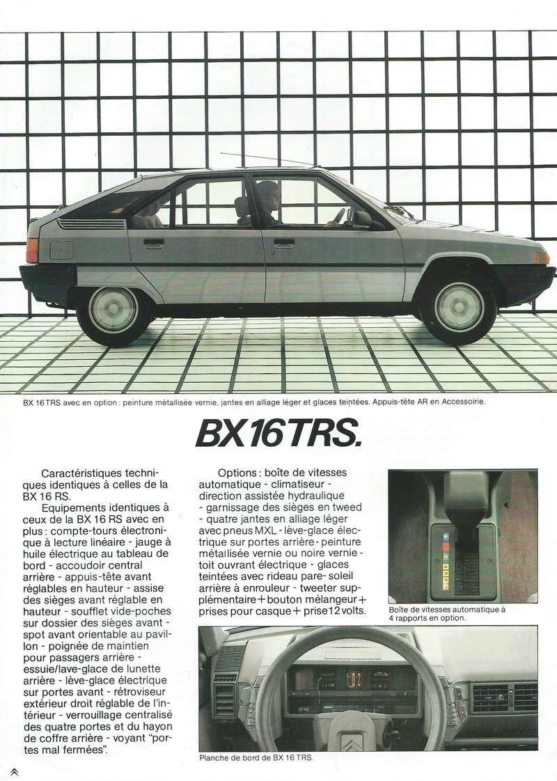 les YOUNGTIMERS (Citroën récentes: AX, BX , CX , XM....) Bx_19853