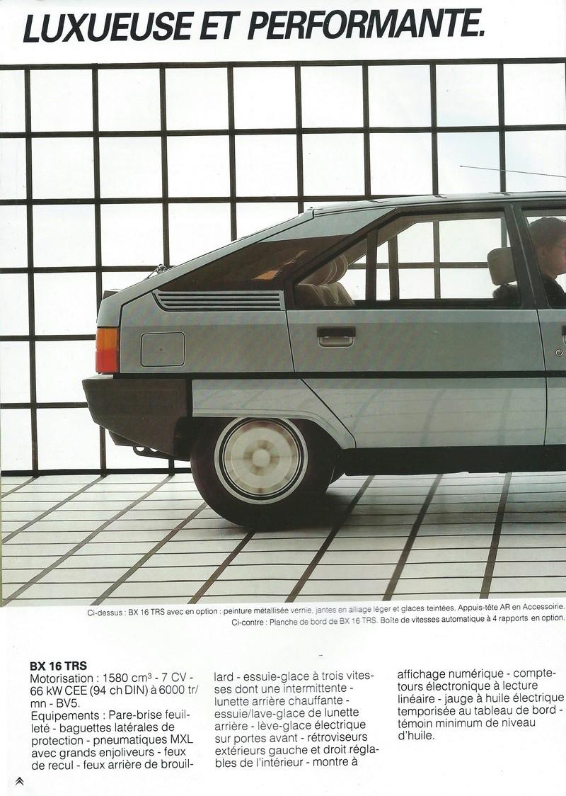 les YOUNGTIMERS (Citroën récentes: AX, BX , CX , XM....) Bx_19854