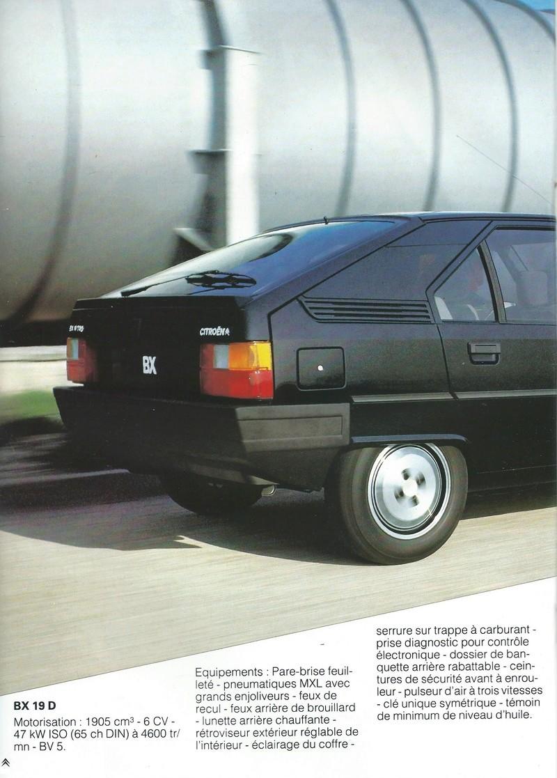 les YOUNGTIMERS (Citroën récentes: AX, BX , CX , XM....) Bx_19856
