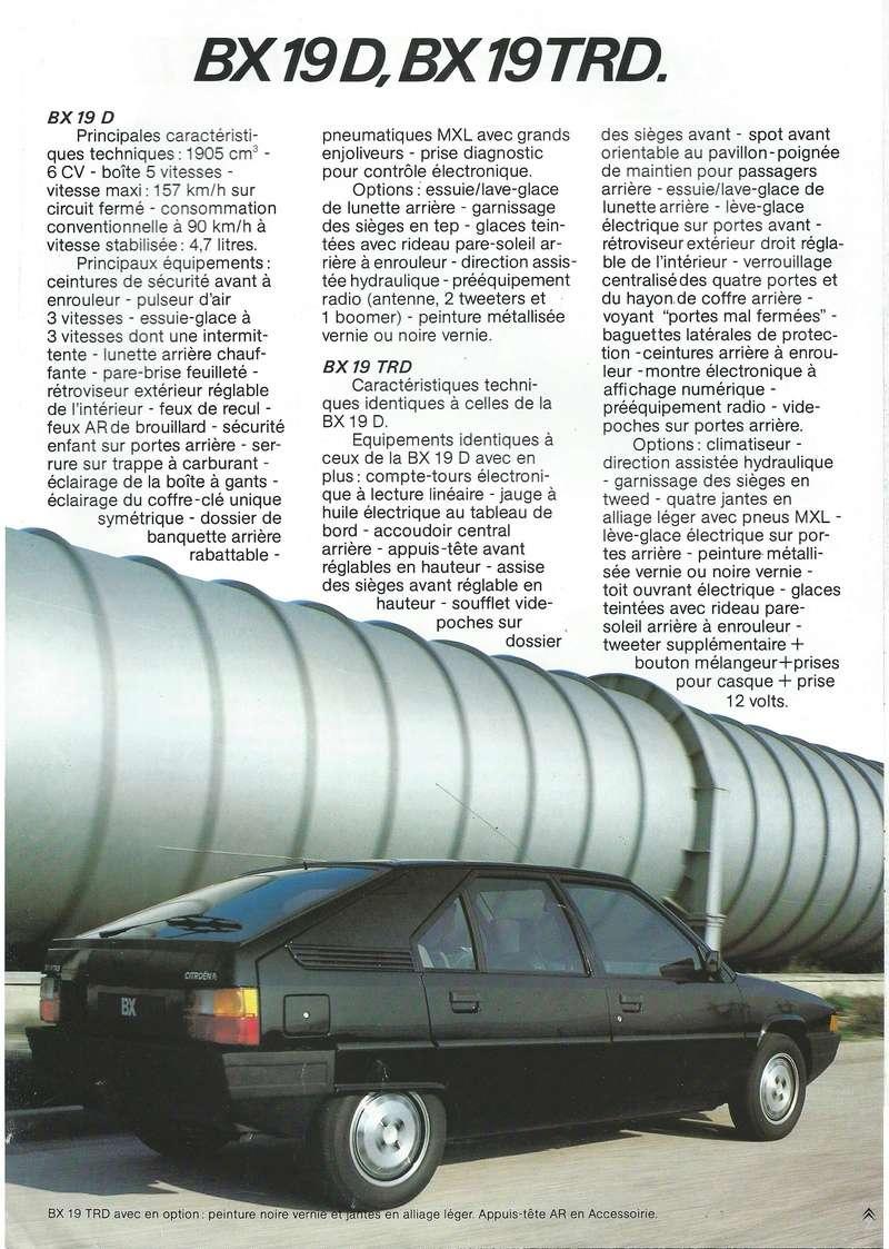 les YOUNGTIMERS (Citroën récentes: AX, BX , CX , XM....) Bx_19857