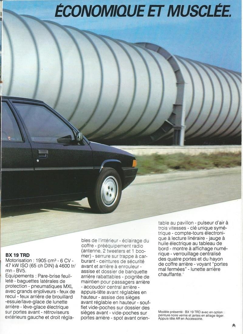 les YOUNGTIMERS (Citroën récentes: AX, BX , CX , XM....) Bx_19858