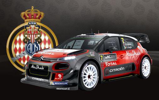 la nouvelle C3 WRC Captu125