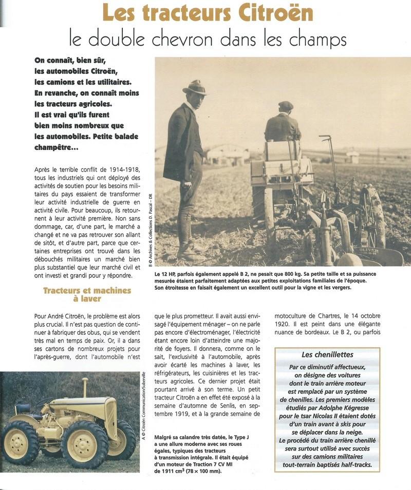 tracteur CITROËN Citroe14