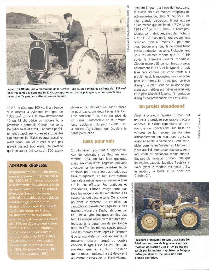 tracteur CITROËN Citroe15