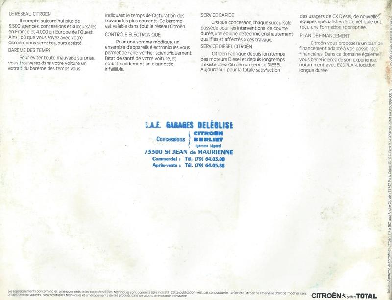 les YOUNGTIMERS (Citroën récentes: AX, BX , CX , XM....) - Page 2 Citroe72