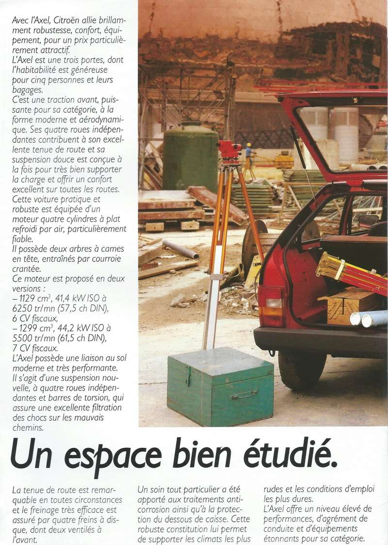 Les 4 cylindres à plat et rotatif (GS, GSA, AXEL....)  - Page 2 Citroe81