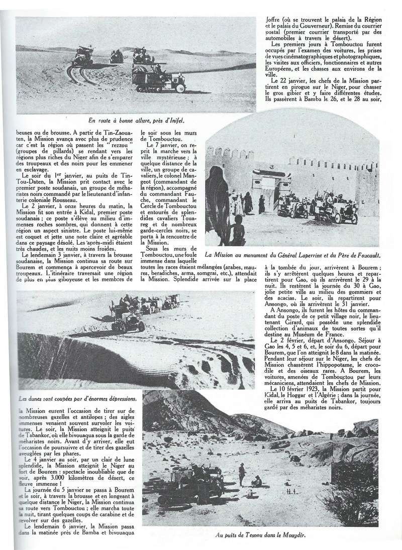 La 1ère Traversée du Sahara Citroe97