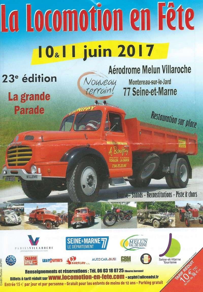 La Locomotion en Fête revient...les 10 & 11 Juin 2017 Locomo10