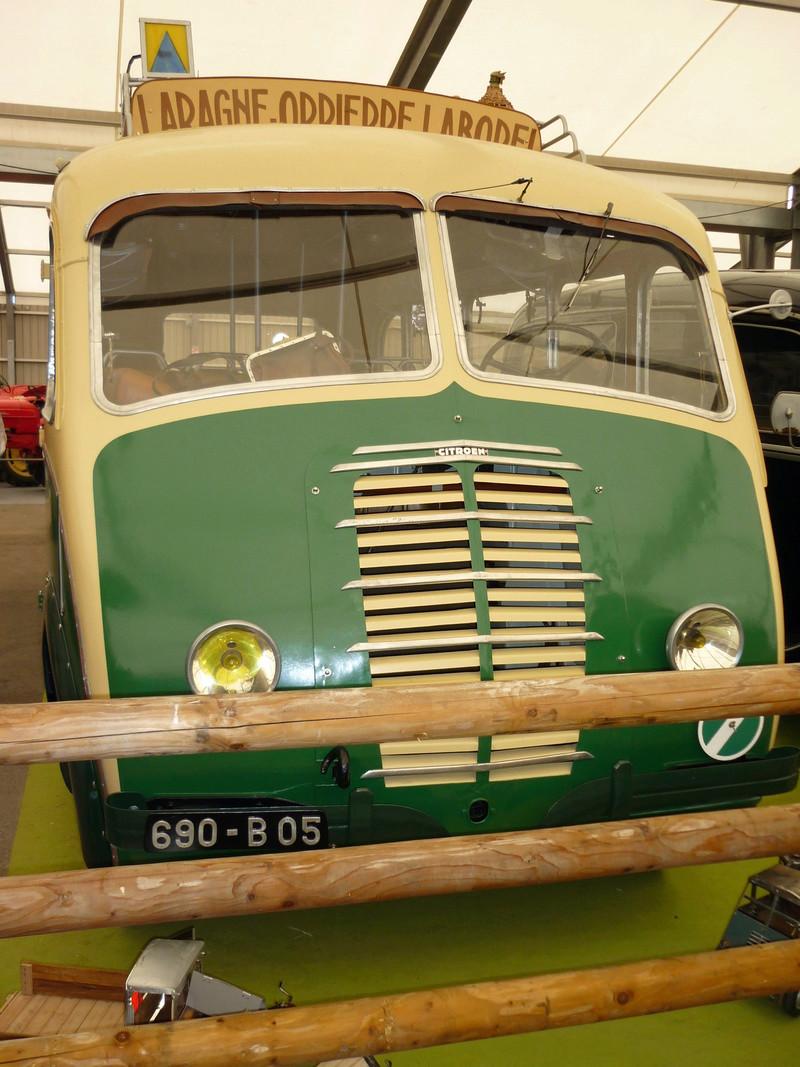 Car Citroën U23 des transports Astier, carrossé par Besset 1947 Salon_12