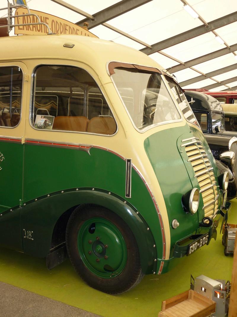 Car Citroën U23 des transports Astier, carrossé par Besset 1947 Salon_13