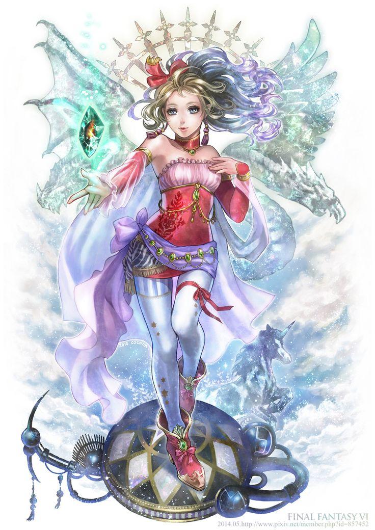 art work final fantasy D8ae1110