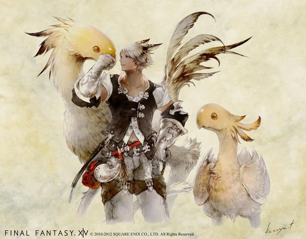 art work final fantasy Final-11