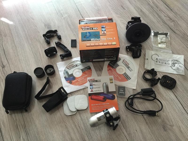 Caméra Rollei BULLET HD lite2 Argent Img_4016
