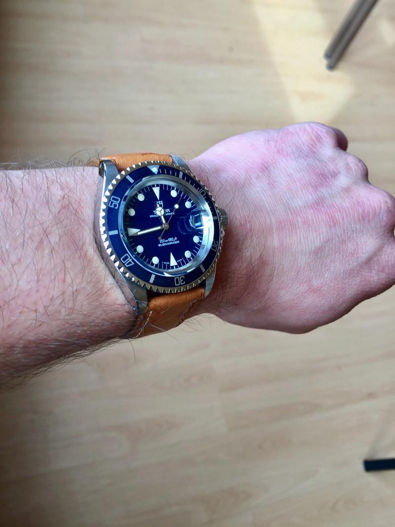 Cadran bleu -> quel bracelet cuir ? Tudor_10