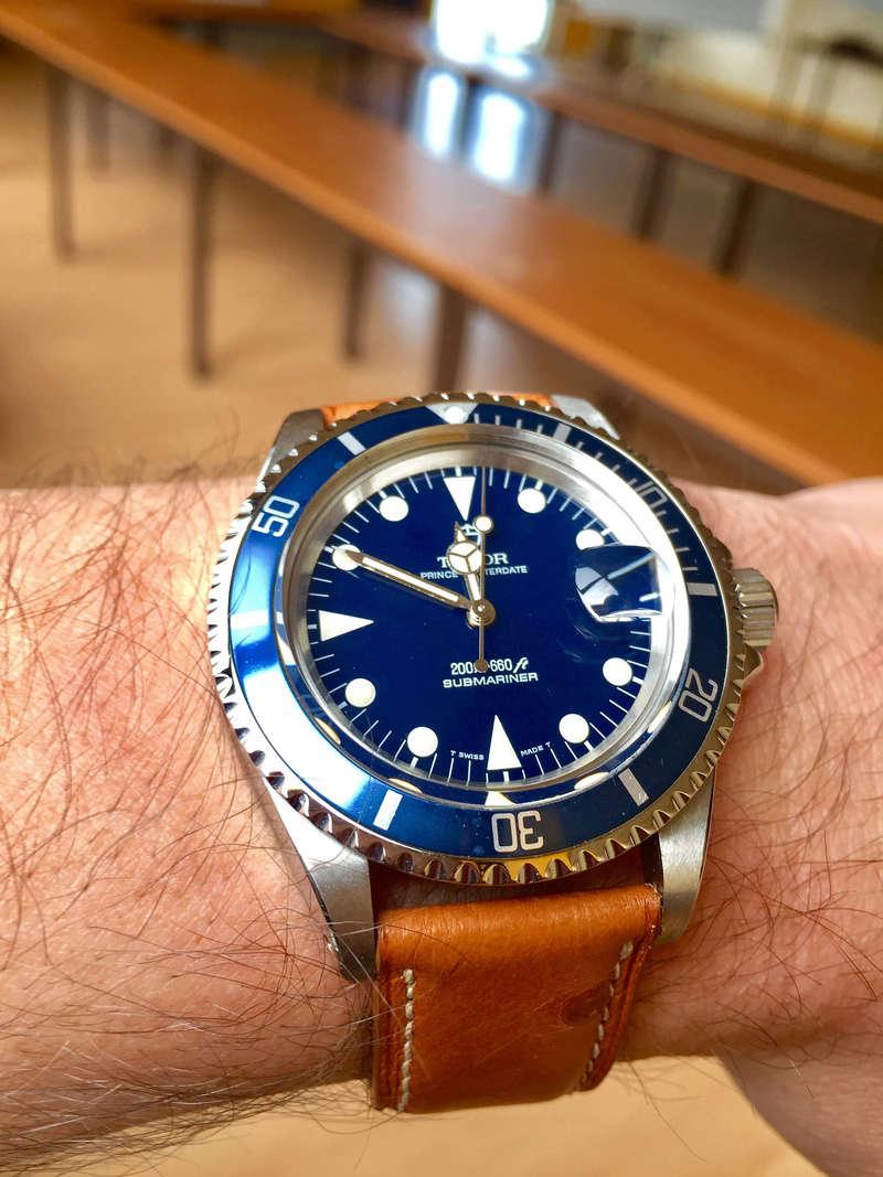 Cadran bleu -> quel bracelet cuir ? Tudor_11