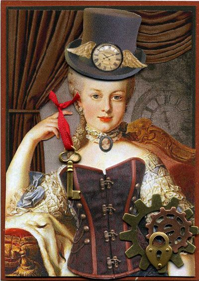 Marie Antoinette steampunk 244b0110