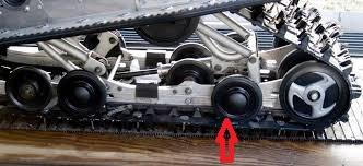 SMA-8FT95-00 Yamaha marginal snow wheel kit  Images10