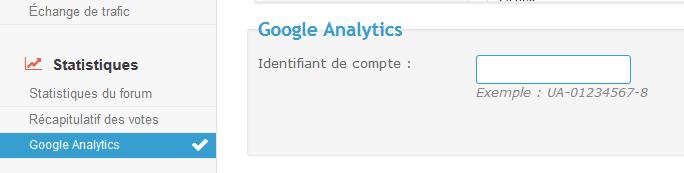Intégration de Google Analytics Tuto-114