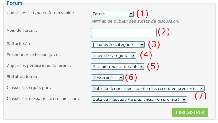 Créer un forum Tuto210